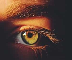 eyes, green, and girl image