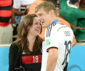 couple, toni kroos, and germany image
