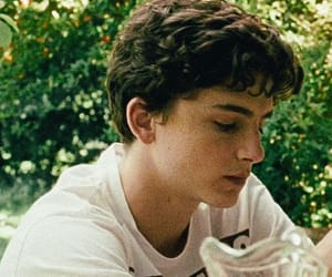elio, timothee chalamet, and call me by your name image