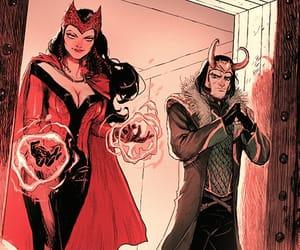 Marvel, scarlet witch, and loki image