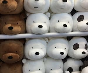 bear, panda, and toys image