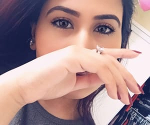 beauty, brown eyes, and brown girls image