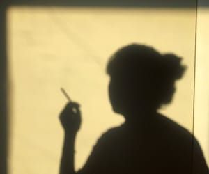 80s, cigarette, and aesthetic image