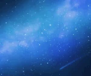 blue, gif, and sky image