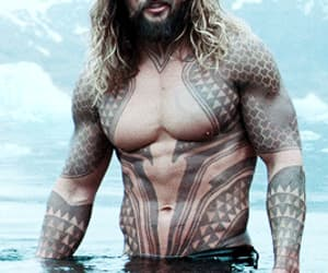 actor, shirtless, and jason momoa image