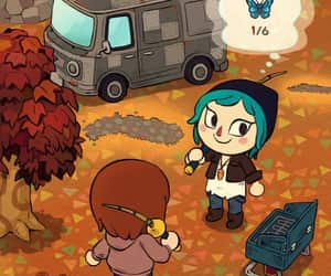 animal crossing and life is strange image