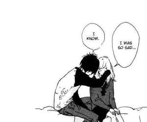 manga, anime, and sad image