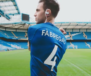 blue, football, and fabregas image
