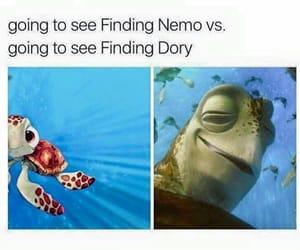 disney, funny, and nemo image