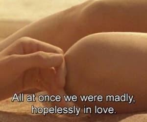 movie scene, romance, and couple goals image