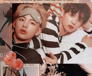 bts and vkook image