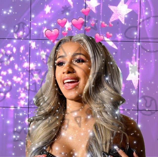 Cardi B Actually Heartbroken Despite Putting On Brave: Image About Cute In Cardi B By Yourfunny On We Heart It