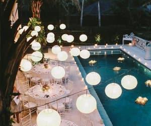 festa, pool party, and decoração image