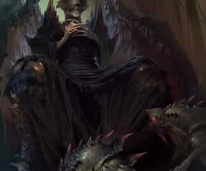 dark, fantasy, and king image