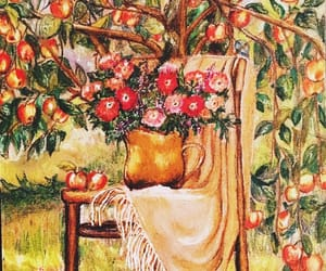 apple, art, and drawing image