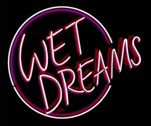 neon lights, weheartit, and wet dreams image