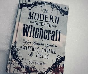 witch, book, and witchcraft image