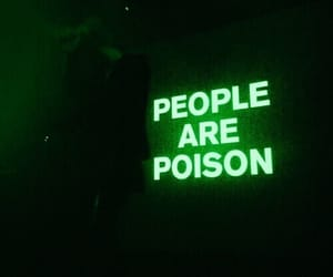 poison, people, and grunge image