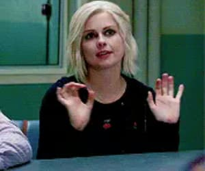 izombie, rose mciver, and liv moore image