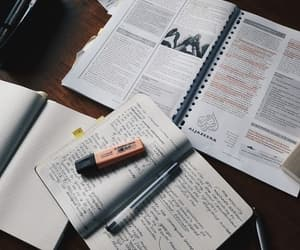 study, college, and inspiration image