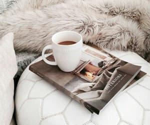 coffee, magazine, and morning image