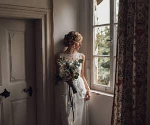 bride, photography, and vintage bride image