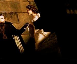 musical, Phantom of the Opera, and gif image