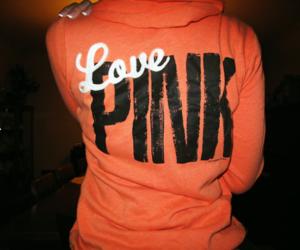 pink, orange, and Victoria's Secret image