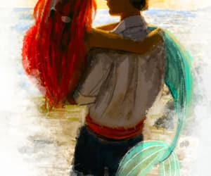 ariel, art, and colors image