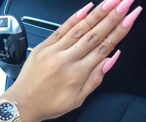 fashion inspiration, nail polish, and nails goals image