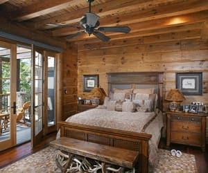 bedroom, brown, and sleepy image