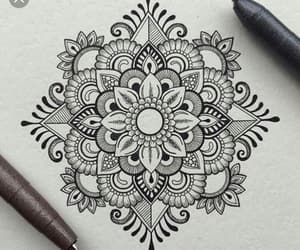 mandala, art, and drawing image