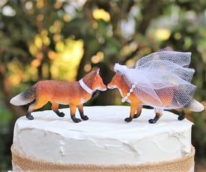 cake, etsy, and wedding image