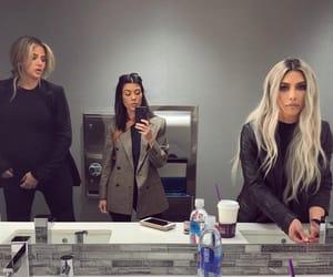 kim kardashian, khloe, and khloe kardashian image