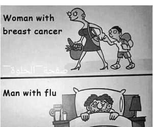 woman, man, and cancer image