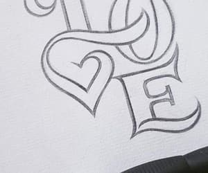 art, black, and calligraphy image