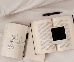 aesthetic, book, and day image