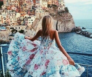 dress, summer, and travel image