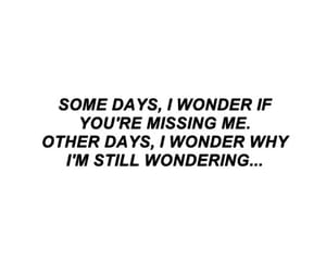 quotes, sad, and wonder image