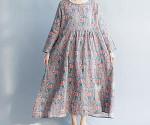etsy, maxi dress, and loose dress image