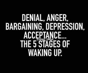 accept, anger, and depression image