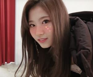 asian girl, soft, and twice image