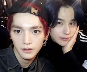 jungwoo, taeyong, and nct image