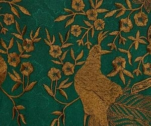 bird, boho, and brocade image