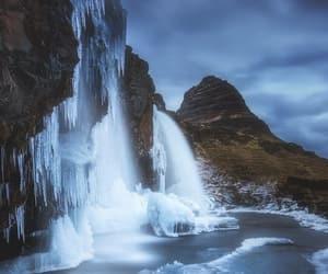 waterfall, nature, and paisaje image