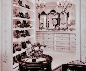 luxury, interior, and shoes image