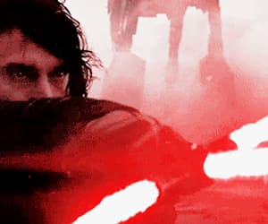 gif, the last jedi, and handsome image