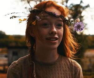 anne shirley, gif, and ginger image