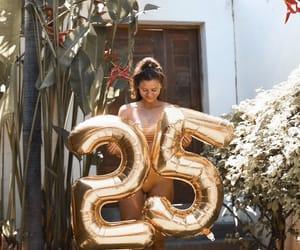 25, balloons, and birthday image