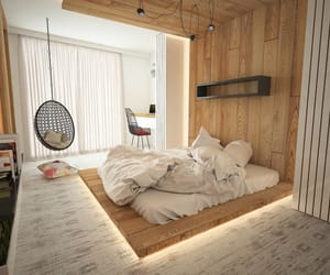 bedroom, Chambre, and cozy image